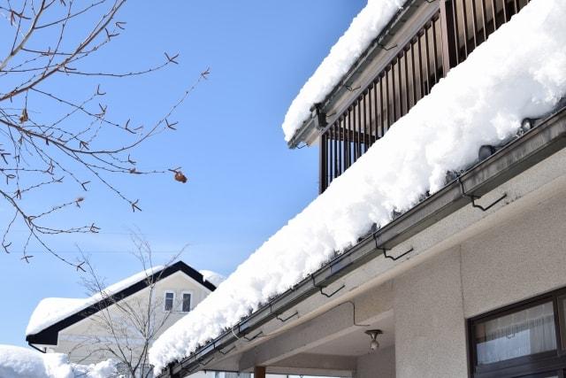 見るなら今!積雪後の一戸建てチェックポイント