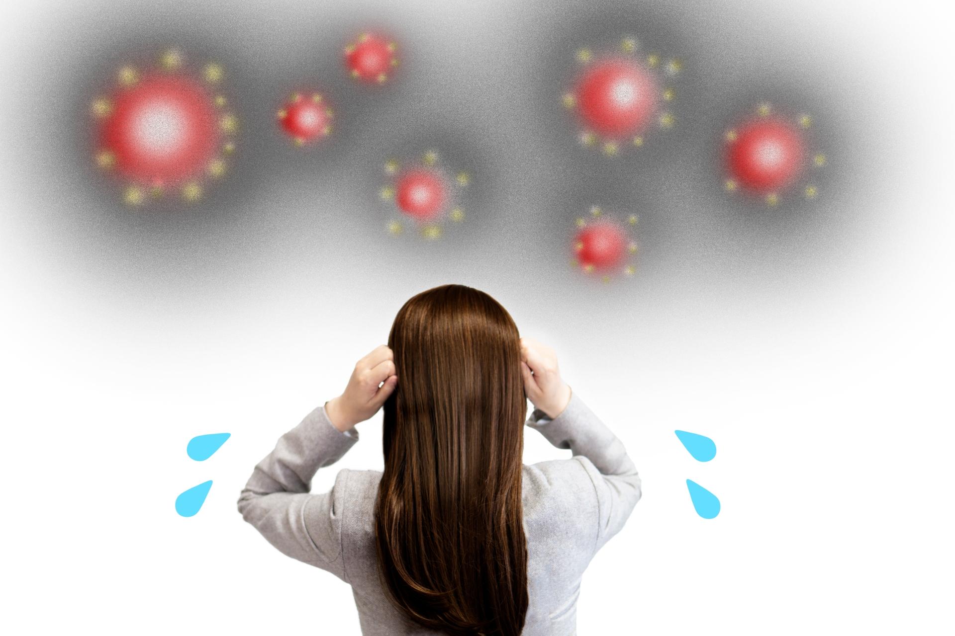 ウイルスに感染してしまった場合、換気はどうすればいい?