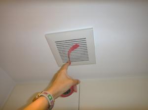 マンション室内の換気扇