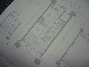 新築マンションの図面