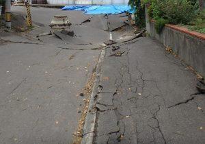 地震による液状化現象